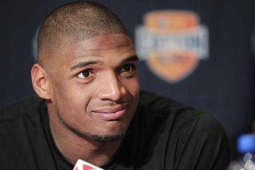 Michael Sam, defensive lineman for the Missouri Tigers