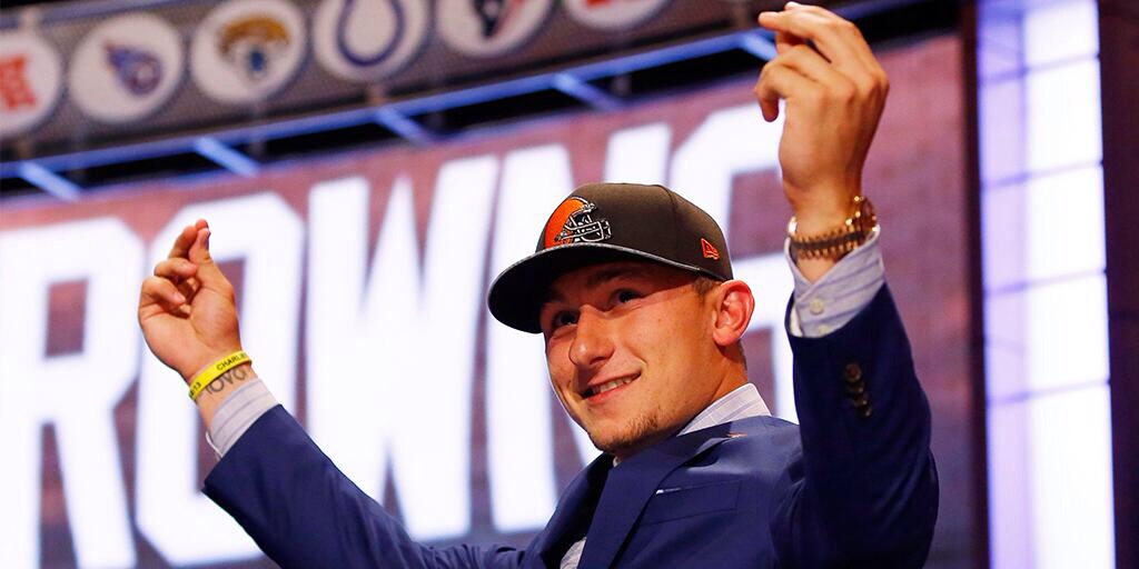 Draft Day 2014: Payday for Johnny Manziel